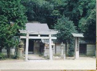歴史公園内にある御劒八幡宮