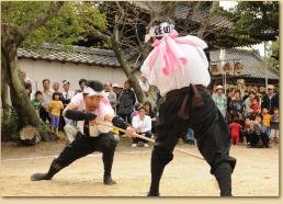田貫町神明社 棒の手