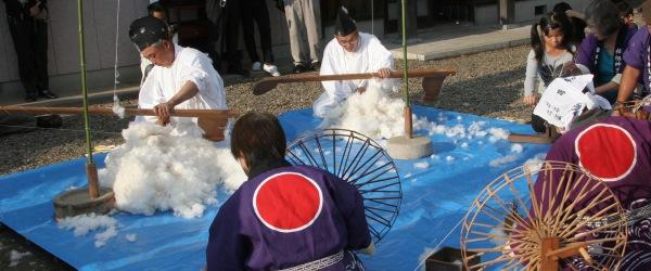 三河木綿から三河「衣食住」の歴史を知る
