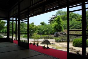 La vecchia residenza Konoe