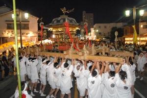 니시오 기온축제