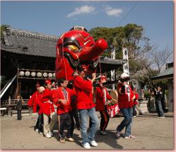 高倉神社 天狗祭