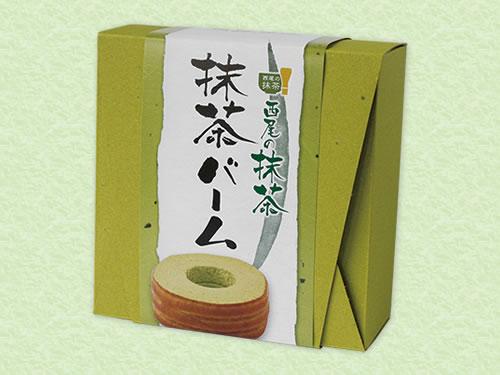 OM-33 抹茶バームクーヘン(大) 箱入り