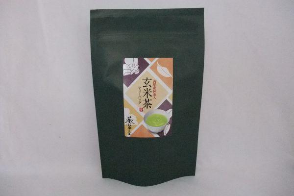 お茶和み 西尾産抹茶入り玄米茶ティーパック 5g×15袋