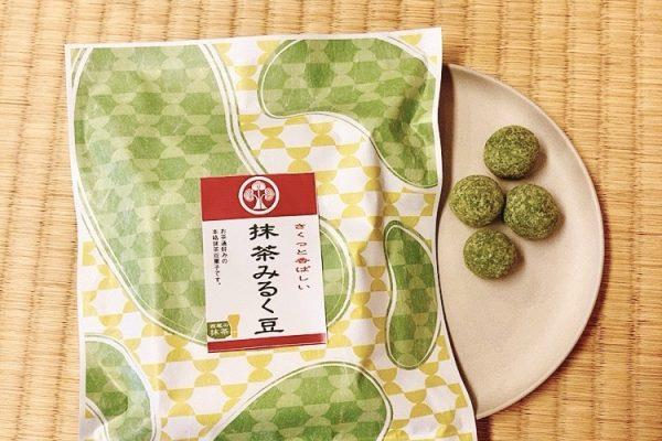 抹茶みるく豆 68g