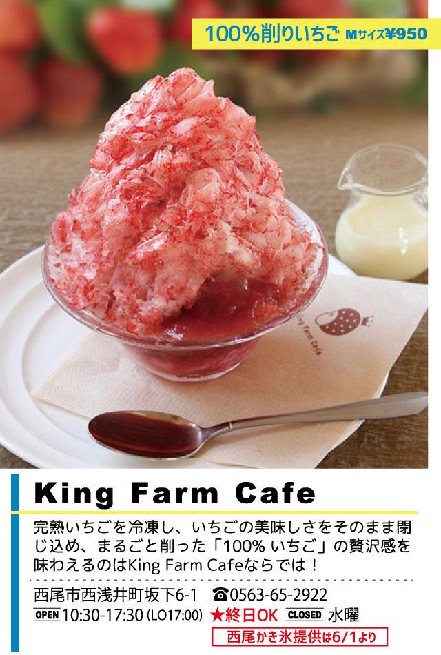 King Farm Cafe 西尾かき氷