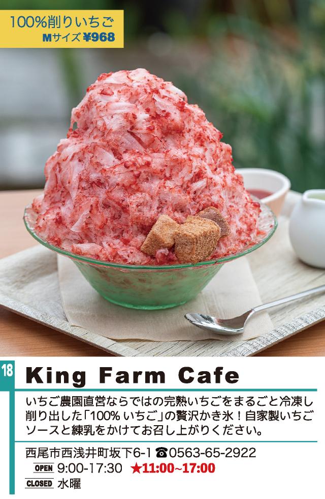 西尾かき氷 King Farm Cafe