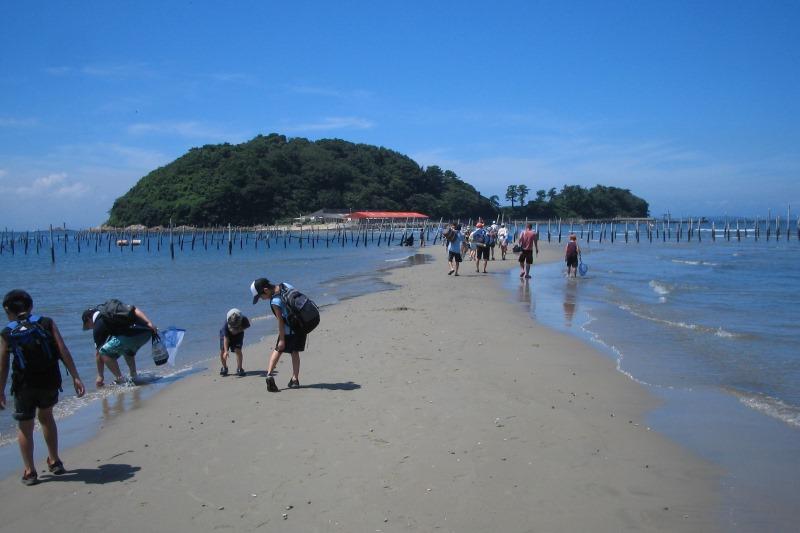 東幡豆 海山の冒険プログラム1泊2日 モニター参加者募集